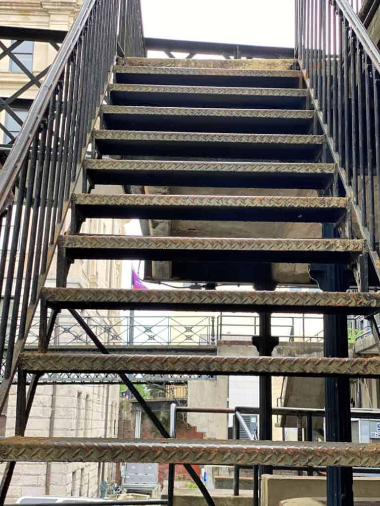 Factors Walk stairs