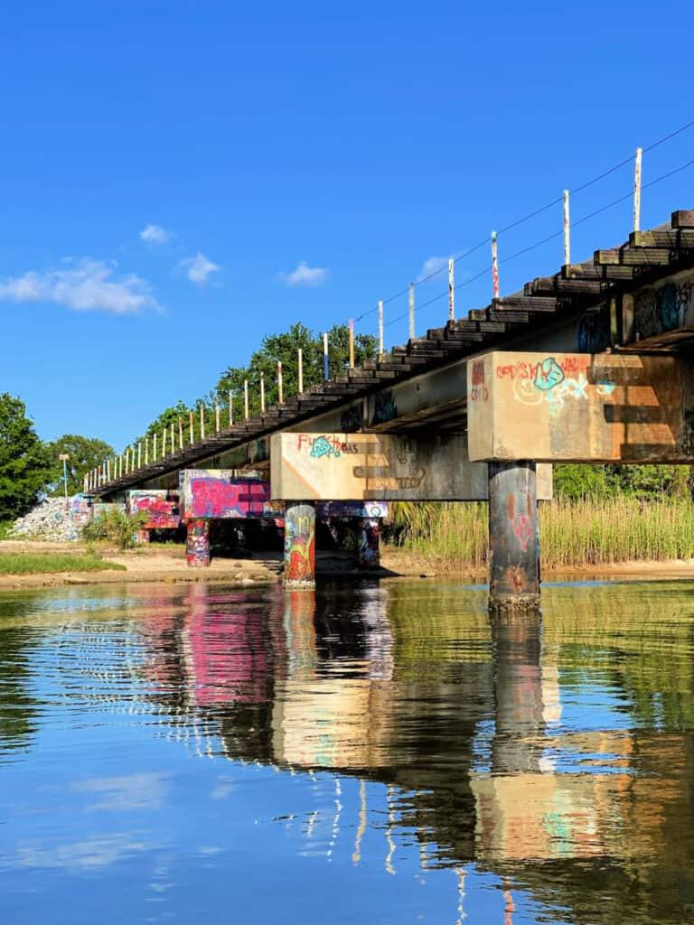 Graffiti Bridge in Pensacola