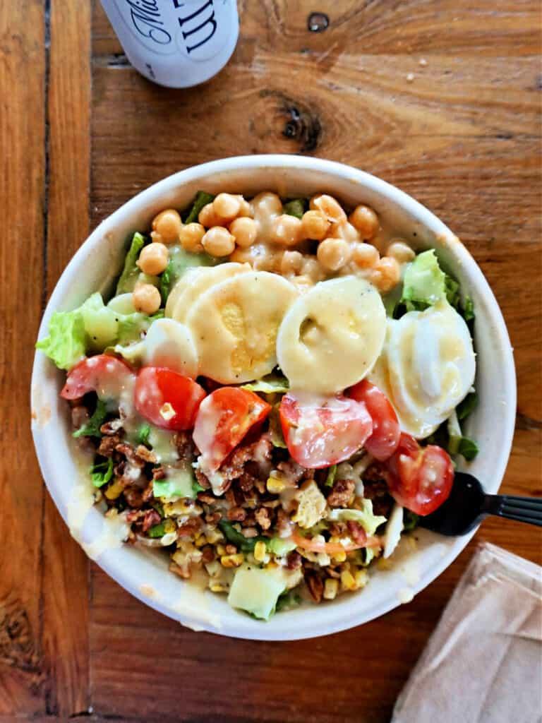 Picnic Cobb salad