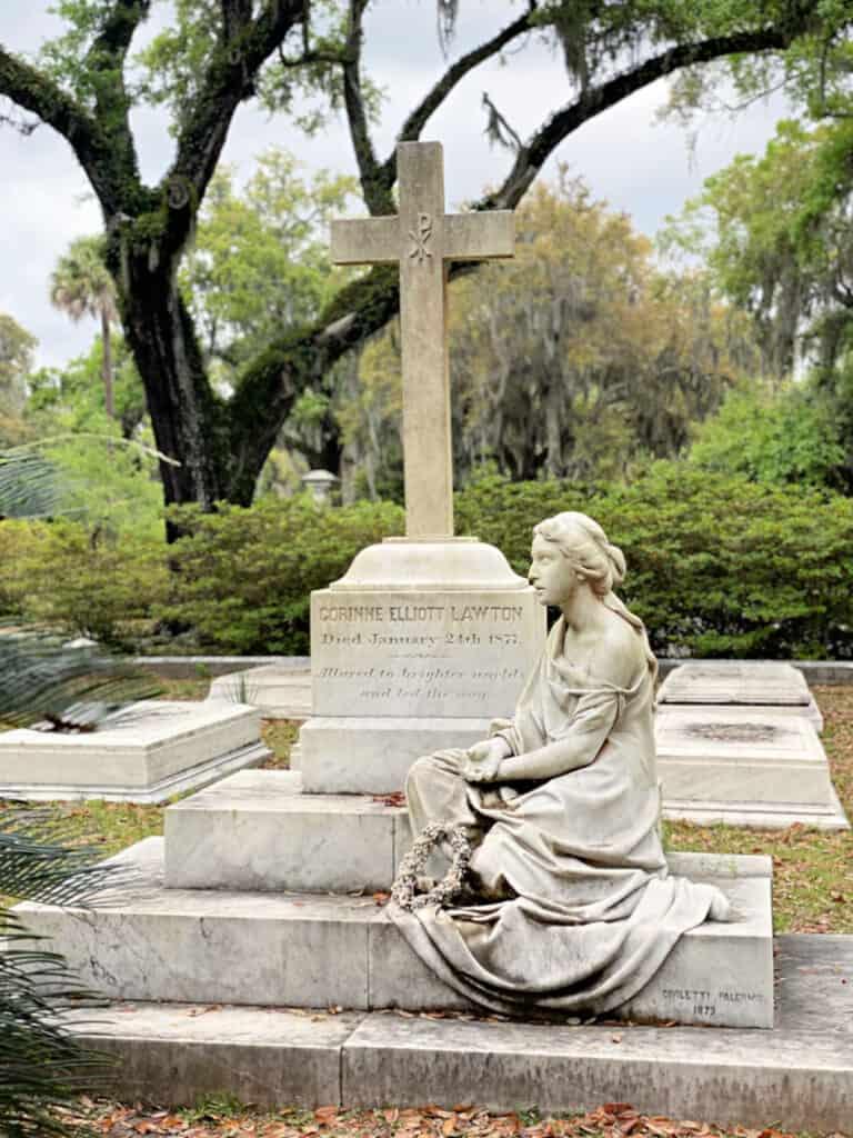 Corrinne Elliott Lawton memorial