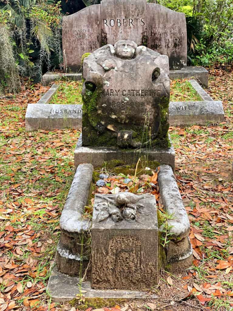 Mary Catherine Roberts grave