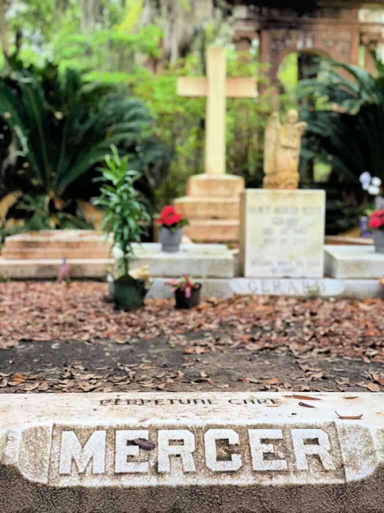 Mercer family plot