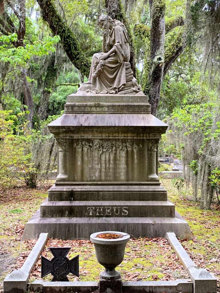 Theus grave