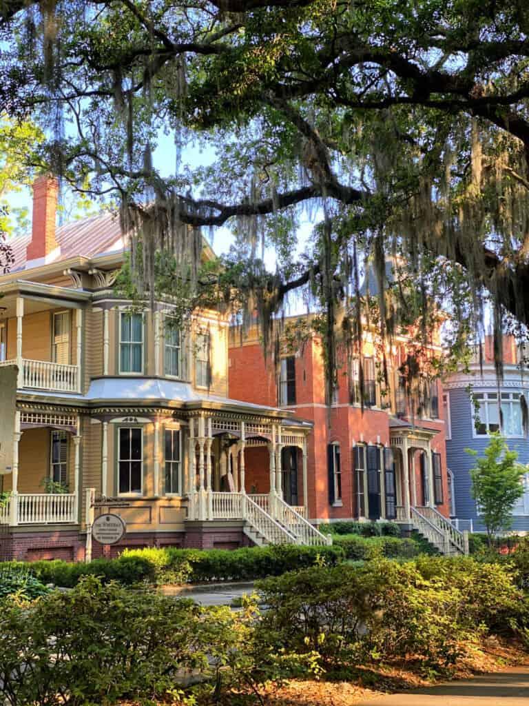 Victorian house in Savannah
