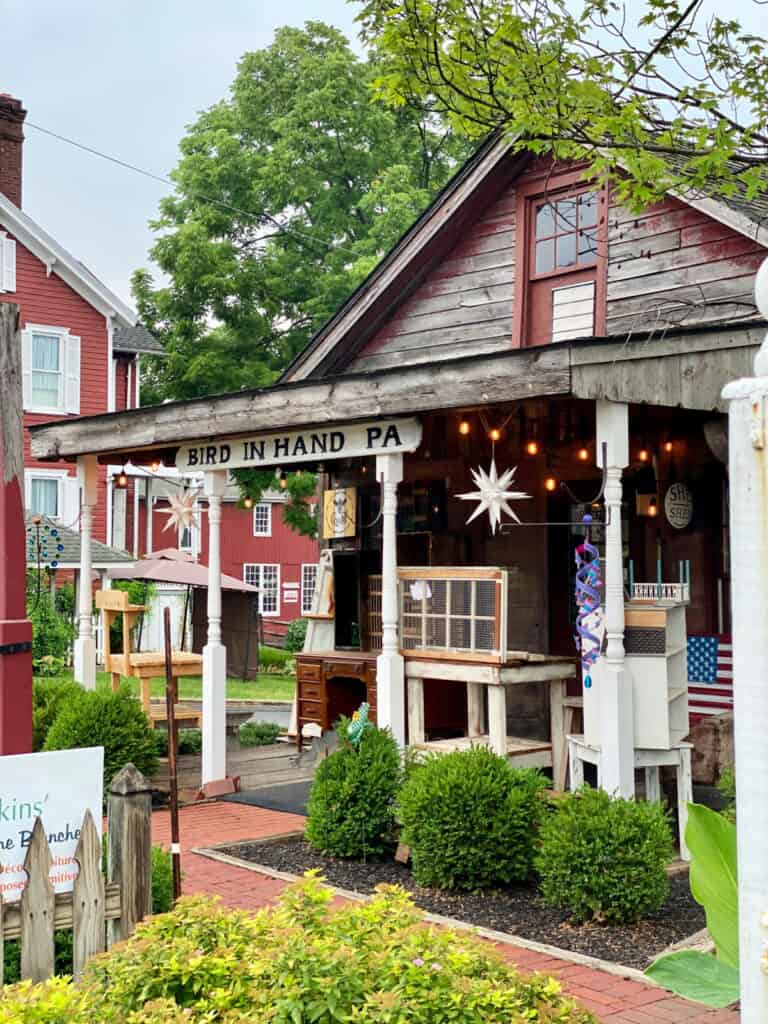 Quaint shop in Bird In Hand, Pennsylvania.