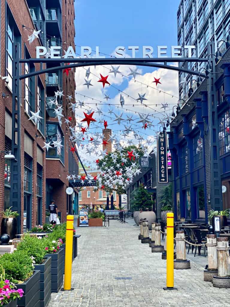 Pearl Street entrance.
